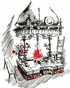 Fogolâr (cheminée typique frioulane)